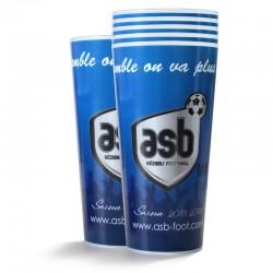 Lot de 6 verres ASB 50 cl Bleu