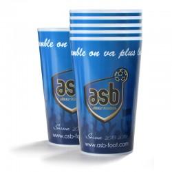 Lot de 6 verres ASB 30 cl Bleu